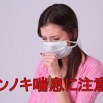 【1月に咳が出る!】ハンノキ花粉症の症状の特徴と対策まとめ